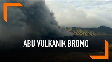 Aktivitas Gunung Bromo mengalami peningkatan. Abu vulkanik bercampur asap terus muncul dengan penampakan yang semakin tebal.