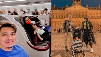 Ajak Buah Hati, 6 Momen Liburan Zaskia Sungkar dan Irwansyah Ke Belanda