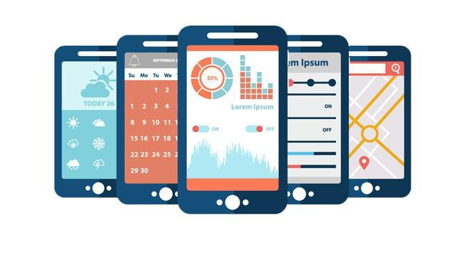 Ilustrasi Aplikasi Mobile, Aplikasi Android, Aplikasi Ponse, Aplikasi Smartphone. Kredit: Freepik/photoroyalty