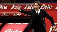 5. Filippo Inzaghi -  Mantan striker Italia ini sempat melatih Michael Essien selama dua musim saat menukangi AC Milan. Namun selama dilatih pelatih muda ini, Essien kerap menjadi pemain cadangan di Rossoneri. (AFP/Giuseppe Cacace)