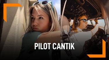 Kenalin, Eva Claire Pilot Cantik Maskapai Cathay Pasific