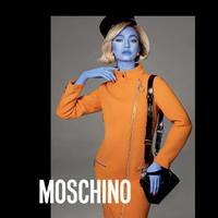 Kaia Gerber for Moschino Fall Winter 2018 - Photo: @moschino
