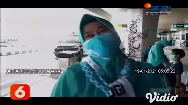 Sebanyak 284 jemaah umrah dari berbagai wilayah di Indonesia kembali diberangkatkan ke Tanah Suci menggunakan pesawat Lion Air JT 3100, semua jemaah akan mendarat langsung ke Kota Madinah.