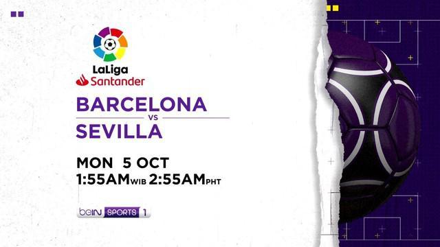 Berita Video jelang pertandingan Liga Spanyol pekan ke-3 antara Barcelona Vs Sevilla. Apakah Ansu Fati kembali cetak gol ?