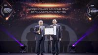 PT Modernland Realty Tbk menerima penghargaan di PropertyGuru Indonesia Property Awards 2019