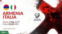 Kualifikasi Piala Eropa 2020 - Armenia Vs Italia (Bola.com/Adreanus Titus)