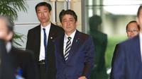 PM Jepang Shinzo Abe (AP Photo/Shizuo Kambayashi)