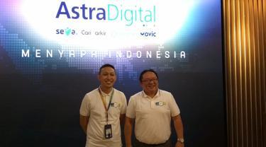 Empat aplikasi di bawah naungan Astra Digital