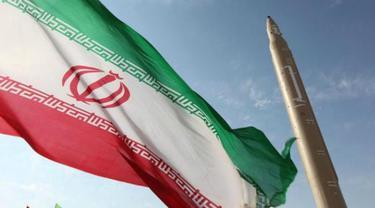 Ilustrasi rudal Iran