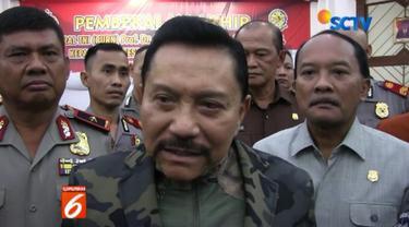 Komnas HAM juga diminta mendukung langkah tim gabungan TNI-Polri dalam menindak para pelaku.