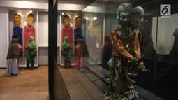 Suasana di Museum Fatahillah dan Museum Wayang, Kota Tua, Jakarta, Selasa (26/6). Pemprov DKI menggratiskan biaya masuk sejumlah museum menyambut HUT ke-491 Jakarta. (Liputan6.com/Arya Manggala)