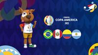 Banner SemiFinal Copa America 2021 (Liputan6.com/Abdillah)