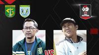 Piala Menpora 2021: Persebaya Surabaya vs Persela Lamongan. (Bola.com/Dody Iryawan)