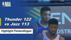 Russell Westbrook bermain-main dan mendapat 12 poin, 11 rebound, 10 assist triple-double dan menang melawan Jazz 122-113.