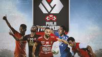Piala Menpora - Persaingan Top Skor Piala Menpora 2021 (Bola.com/Adreanus Titus)