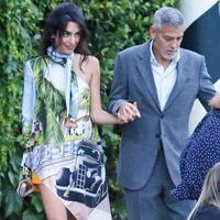Amal Clooney & George Clooney - Photo: popsugar