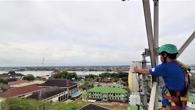 EXCL XL Axiata Geber 4G di Sebagian Besar Kecamatan di Kalimantan Barat - Tekno Liputan6.com