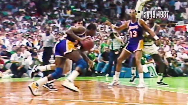 Berita Video melihat aksi keren Magic Johnson saat raih gelar MVP NBA Tahun 1987