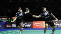 Pasangan ganda putra Indonesia Angga/Ricky berlaga di final Singapura Terbuka