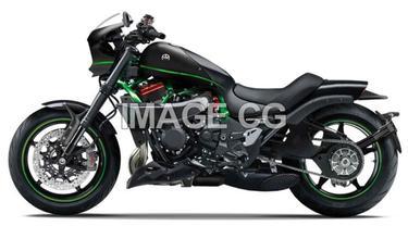 Kawasaki Eliminator siap mencangkok mesin H2