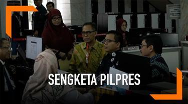 Tim kuasa hukum BPN Prabowo-Sandi mendaftarkan barang bukti baru dan tambahan dalam sidang sengketa Piklpres 14 Juni 2019. Penyerahan barang bukti dilakukan oleh tim kuasa hukum BPN
