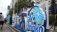 Sistem Jak Lingko mengintegrasikan mulai bus besar, medium, Transjakarta, kereta MRT dan LRT.