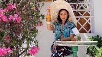 Ayla Dimitri di Bali. (dok. Instagram @ayladimitri/https://www.instagram.com/p/CDGX1ynjZ_2/Dinny Mutiah)