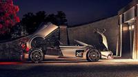 Pagani Huayra Roadster BC tampil sangar dengan konsep atap terbuka. (Motor1)