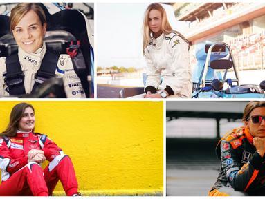Pebalap Cantik di F1 (Bola.com/Instagram)