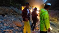 Lalu Lintas Medan-Berastagi diberlakukan buka tutup jalur akibat longsor