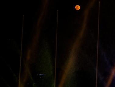 Bulan Purnama Langka Harvest Moon