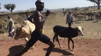 Pelatih jarak jauh Inggris, Mo Farah berlatih di Etopia (Intagram)