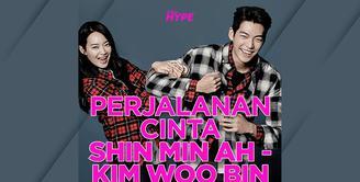 3 Fakta Kisah Cinta Shin Min Ah dan Kim Woo Bin, Bakal Menikah Tahun Ini