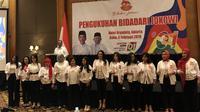Relawan Bidadari Jokowi Menolak RUU Permusikan. (Foto: Liputan6.com/Ratu Annisaa Suryasumirat)
