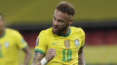FOTO: Di Tengah Isu Boikot Copa America 2021, Brasil Tumbangkan Ekuador di Kualifikasi Piala Dunia 2022