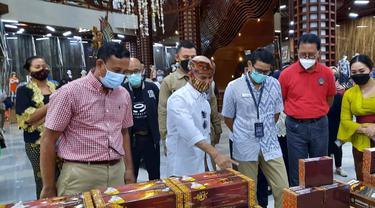 Sandiaga Uno dan Pelaku UMKM Bali
