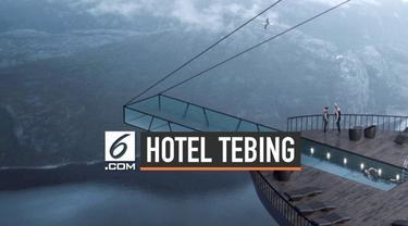 Seorang arsitek asal Turki mendesain sebuah hotel di tepi tebing Prekestolen, Norwegia. Menariknya hotel ini akan memiliki kolam renang yang tergantung dan menjorok ke jurang.