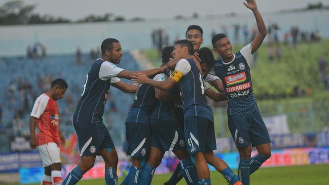 Mampir Ke Lokasi Latihan, Wali Kot'a Malang Semangati Pemaiin Arema FC