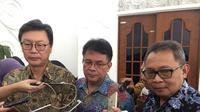 Pemerintah Korea Selatan menyampaikan hibah US$ 10 juta atau setara dengan Rp 142 miliar untuk membantu rehabilitasi dan rekonstruksi pasca gempa-tsunami di Sulawesi Tengah (Liputan6.com/Teddy Tri Setio Berty)