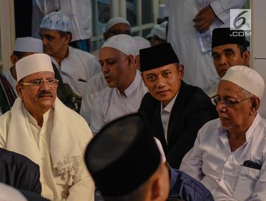 Prabowo - AHY Hadiri Maulid Nabi dan Haul Habib Kwitang
