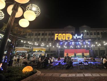 Food Street Kawasan Pantai Maju
