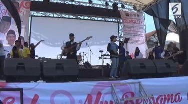 Sebuah grup musik dibentuk untuk memperingati hari disabilitas internasional. Keseluruhan personel adalah penyandang disabilitas.