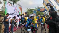 Gowes Nusantara 2019 berakhir di Kulon Progo dan warga bisa menempuh tantangan hingga 100 km (dok: Kemenpora)