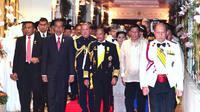 Presiden RI Joko Widodo hadiri acara Perayaan 50 Tahun Sultan Hassanal Bolkiah Bertakhta (Kemlu.go.id)