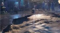 Banjir di Bantul. (Liputan6.com/Yanuar H/ BPBD DIY)