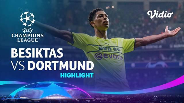 Berita video gol-gol dan beragam peluang yang tercipta pada partai seru matchday 1 Grup C Liga Champions 2021/2022 antara Besiktas melawan Borussia Dortmund yang berakhir dengan skor 1-2, Rabu (15/9/2021) malam hari WIB.