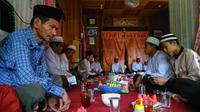 Tradisi Saruan untuk merayakan maulud nabi di Balangan (istimewa)