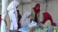Acara Expo Santripreneur 2019 digelar di Alun Alun, Blitar, Jawa Timur. (Istimewa)
