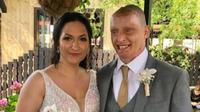 Daniel Rotariu bersama istrinya, Anna (dok.instagram/@morileeoffficial/https://www.instagram.com/morileeofficial/?hl=en/Komarudin)