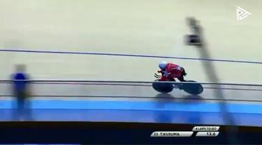 Salah satu atlet balap sepeda putra andalan Indonesia yang siap meraih medali Asian Games 2018 di nomor sprint balap sepeda adalah Terry Yudha Kusuma. Anak tukang pangkas rambut ini siap mempersembahkan medali untuk Indonesia.